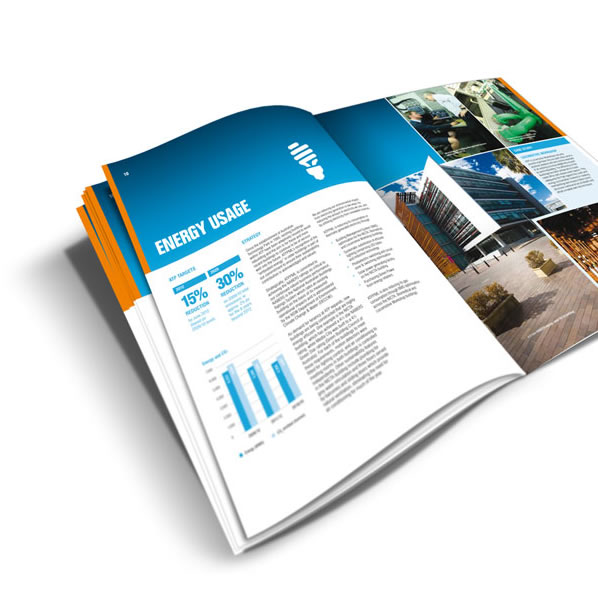 Annual report design and production